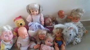 muñecos peluche