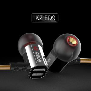 Audífono KZ ED9 Manos Libres Metal Acero Inoxidable Super