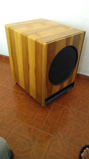 Bajo amplificado 500 wats 2 cabinas parlantes provic 300