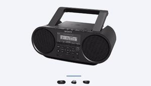 Grabadora Sony Zs-rs60bt Negra Usb Aux Cd Am/fm