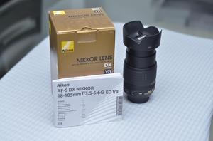 Lente Nikon  mm VR Nuevo
