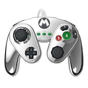 Pdp Wired Lucha Pad Para Wii U - Metal Mario