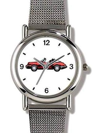 Reloj Deportes Vintage Red No.3 De Coches - Watchbuddy Elit