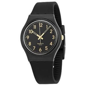 Reloj Swatch Gb274 Silicone Negro Unisex