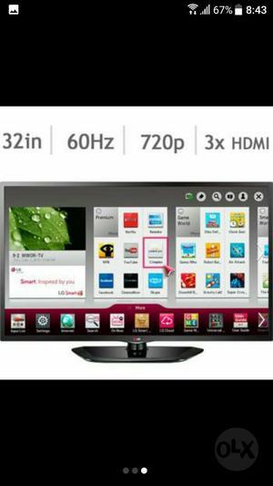 Televisor Lg Led 32 Smart Tv Como Nuevo