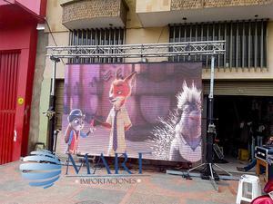 pantallas led gigantes p5 exterior modulos  disponible