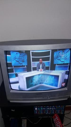televisor samsung de 21 pulgadas. 70 mil pesos