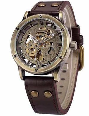Ampm24 Reloj Pra Hombres Color Bronce Mecánico Envio Gratis