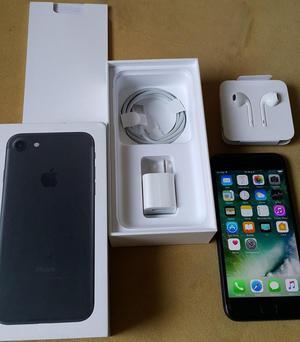 Iphone 7 De 128gb 4g Lte Procesador A10 Negro Mate Usado