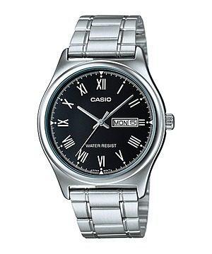 Reloj Casio Mtp-v006d-1b Acero Plateado Hombre
