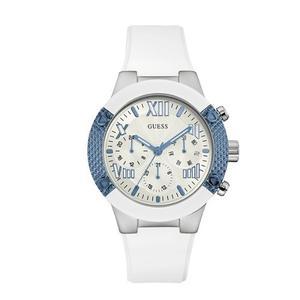 Reloj Guess Wl3 Silicone Blanco Mujer