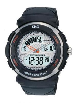 Reloj Q&q Digital M012j001y Hombre