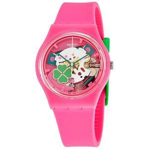 Reloj Swatch Gp147 Silicone Rosado Mujer