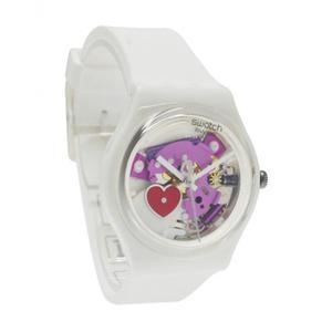 Reloj Swatch Gz300 Silicone Blanco Mujer