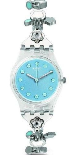 Reloj Swatch Lk356g Acero Plateado Mujer