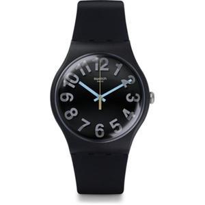 Reloj Swatch Suob133 Silicone Negro Femenino