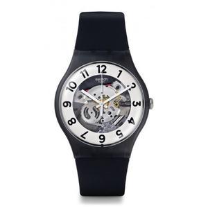 Reloj Swatch Suob134 Silicone Negro Femenino
