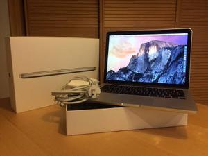 Macbook Retina 13 Core I5 Ram 8gb Sdd 256 Pocos Ciclos