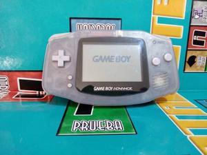 Consola Game Boy Advance Gba Traslucida No Tapa Pilas