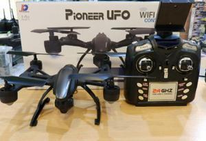Drone Pionner Ufo Wifi Camara Boton Home