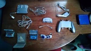 Game Boy Advance Sp Como Nueva Accesorios 4 Juegos.