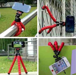 Tripode Flexible Celular Camara Tablet Base Soporte Selfies