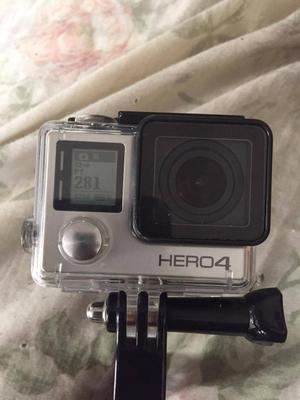 Vendo cámara GoPro Hero 4 Silver