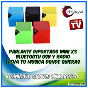 bafle bluetooth usb mas radio