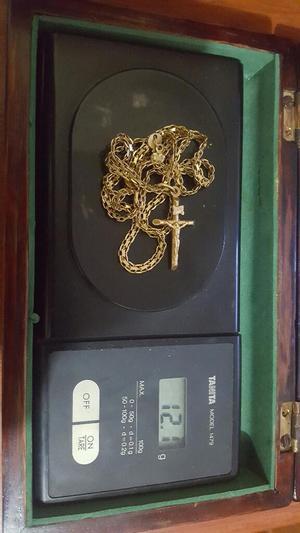 Cadena en Oro 18k 750 Italiano con Dije