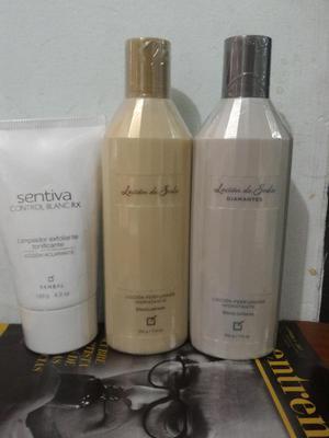 cremas de seda limpiador control blanc