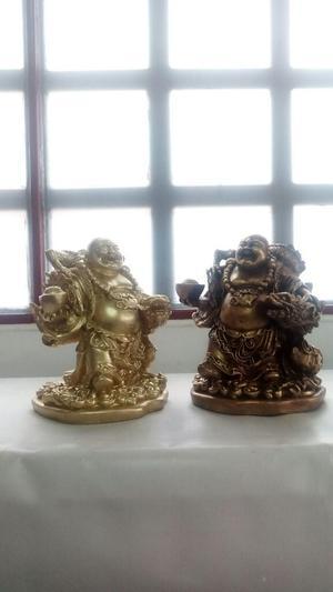 Budas X Unidad en Yeso Metalizados