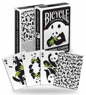 Cartas Baraja Bicycle Panda Poker Playing Cards