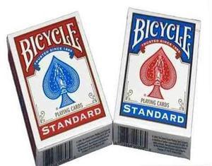 Cartas Baraja Bicycle Poker Black Jack Standard Unidad