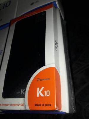 Celular K 10 Lg Nuevos Blanco Y Negro Es