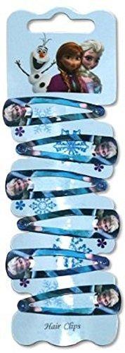 Congelados De Elsa De Metal Pelo Clip Joyería 6pcs Set