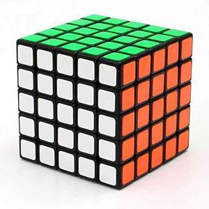Cuberspeed ¿¿shengshou 5x5x5 Linglong Negro Mini 5x5