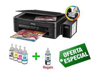 Impresora Epson L220 Multifuncional + Botella De Tinta Negro