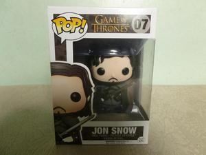 OFERTA FIGURA FUNKO POP DE JON SNOW GAME OF THRONES ORIGINAL