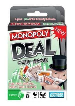 Trato Juego De Cartas Monopoly Hasbro Envío Gratis
