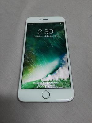 iPhone 6s Plus 64gb Blanco Como Nuevo