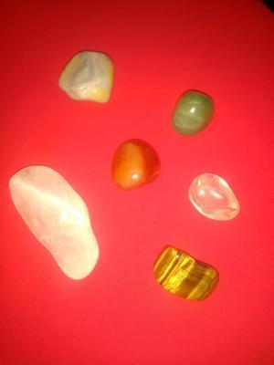 venta 6 piedras semipreciosas en bruto