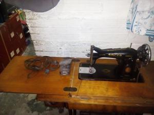 Maquina singer negrita zz con motor y pedal posot class - Mesa maquina coser singer ...