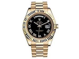 Nueva Rolex Fecha Día Ii Para Hombre De Oro Amarillo De 18