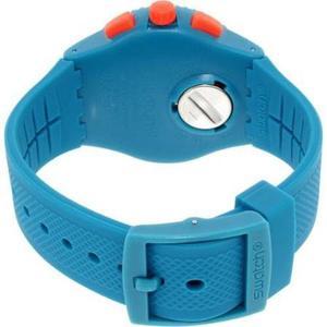 Reloj Azul Swatch Para Hombres Susn406