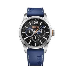 Reloj Hugo Boss  Cuero Azul Hombre