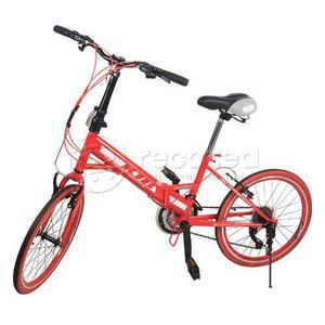 Bicicleta Plegable Kjb Rin 20 De Aluminio Jóvenes Y Adultos