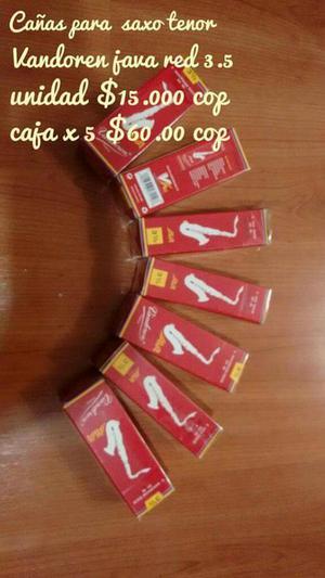 Cañas Vandoen 2.5 Y 3.5 Sax Tenor