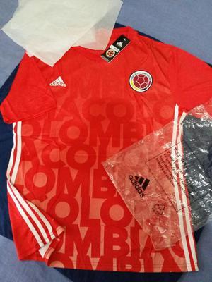 Camiseta Selección Colombia, prepartido  !