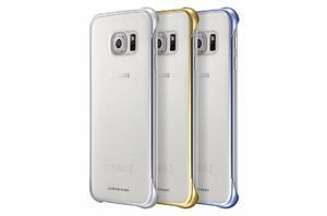Carcasa Forro Samsung Galaxy S6 Clear Cover Estuche Original