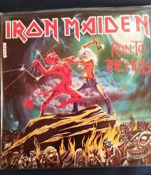 EP vinilo sencillo Run To The Hills de Iron Maiden